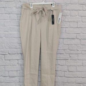 Express | Paper Bag Waist High Rise Pants